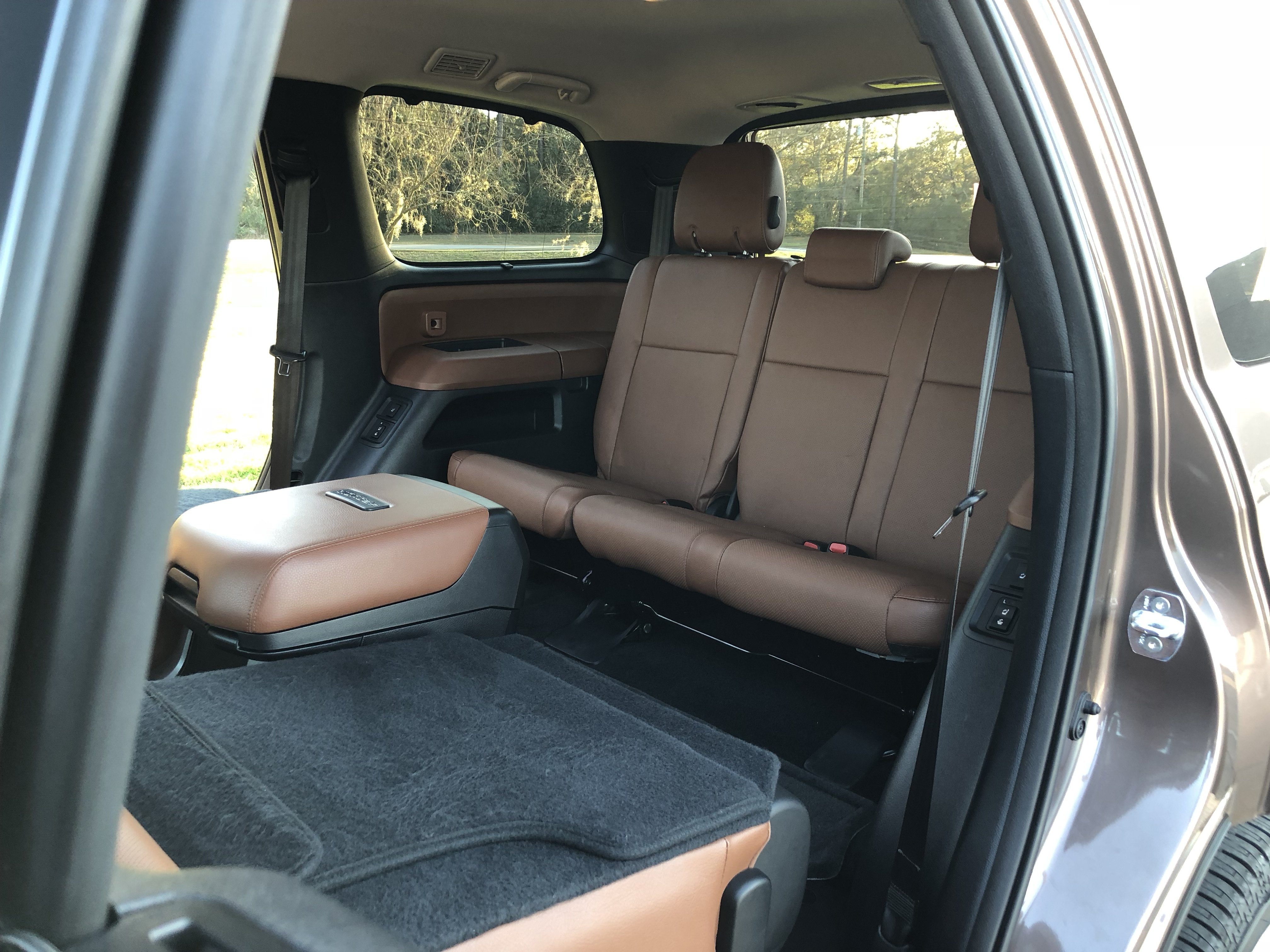 toyota 4runner captains chairs bedroom tv chair inside the 2018 sequoia platinum top speed