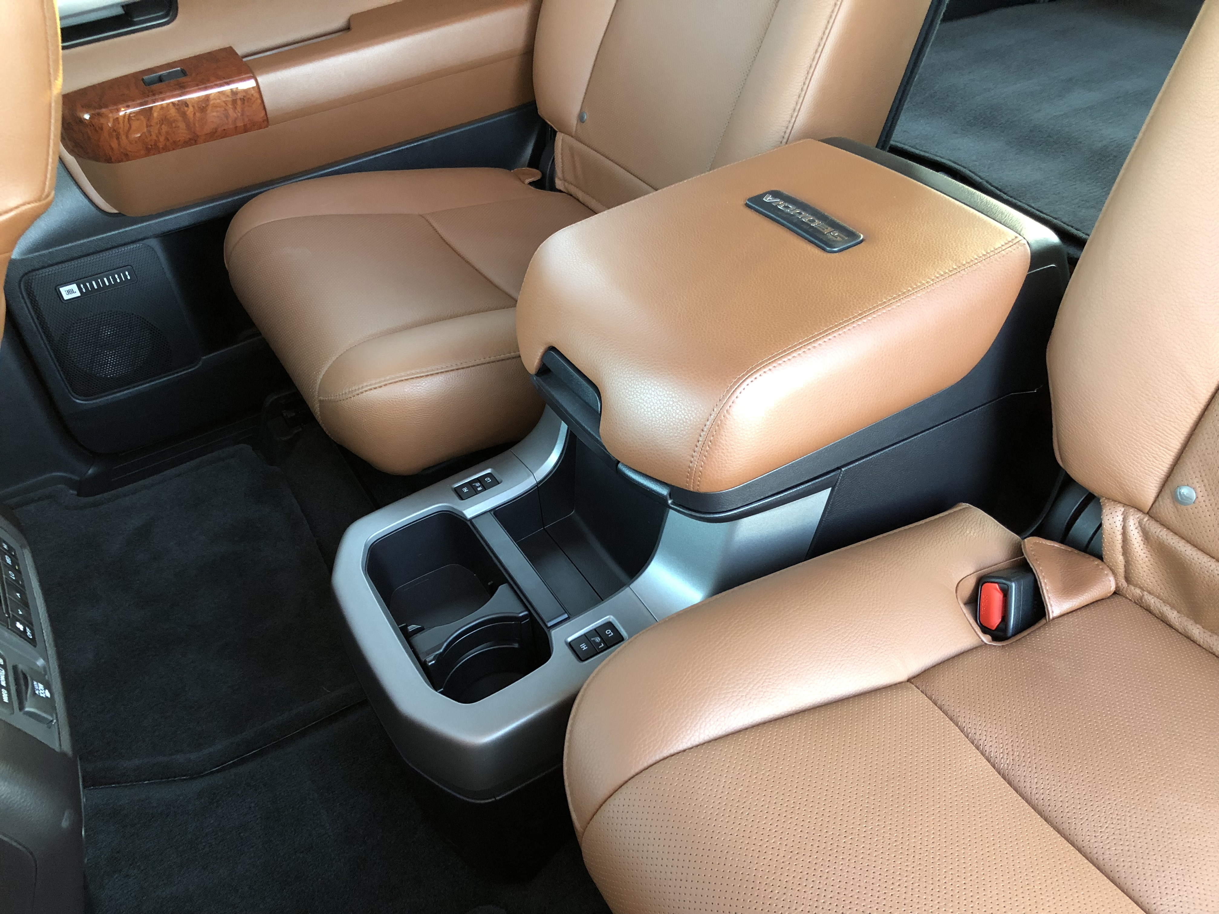 toyota 4runner captains chairs chair yoga certification florida inside the 2018 sequoia platinum top speed