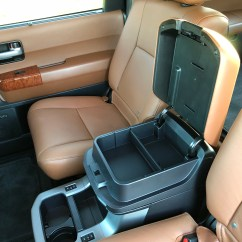Toyota 4runner Captains Chairs Chiffon Chair Sash Inside The 2018 Sequoia Platinum Top Speed