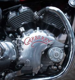 carberry motorcycles launched a brand new 1 lire v twin engine [ 1600 x 1068 Pixel ]