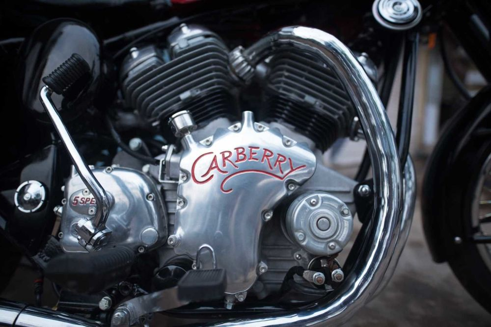 medium resolution of carberry motorcycles launched a brand new 1 lire v twin engine