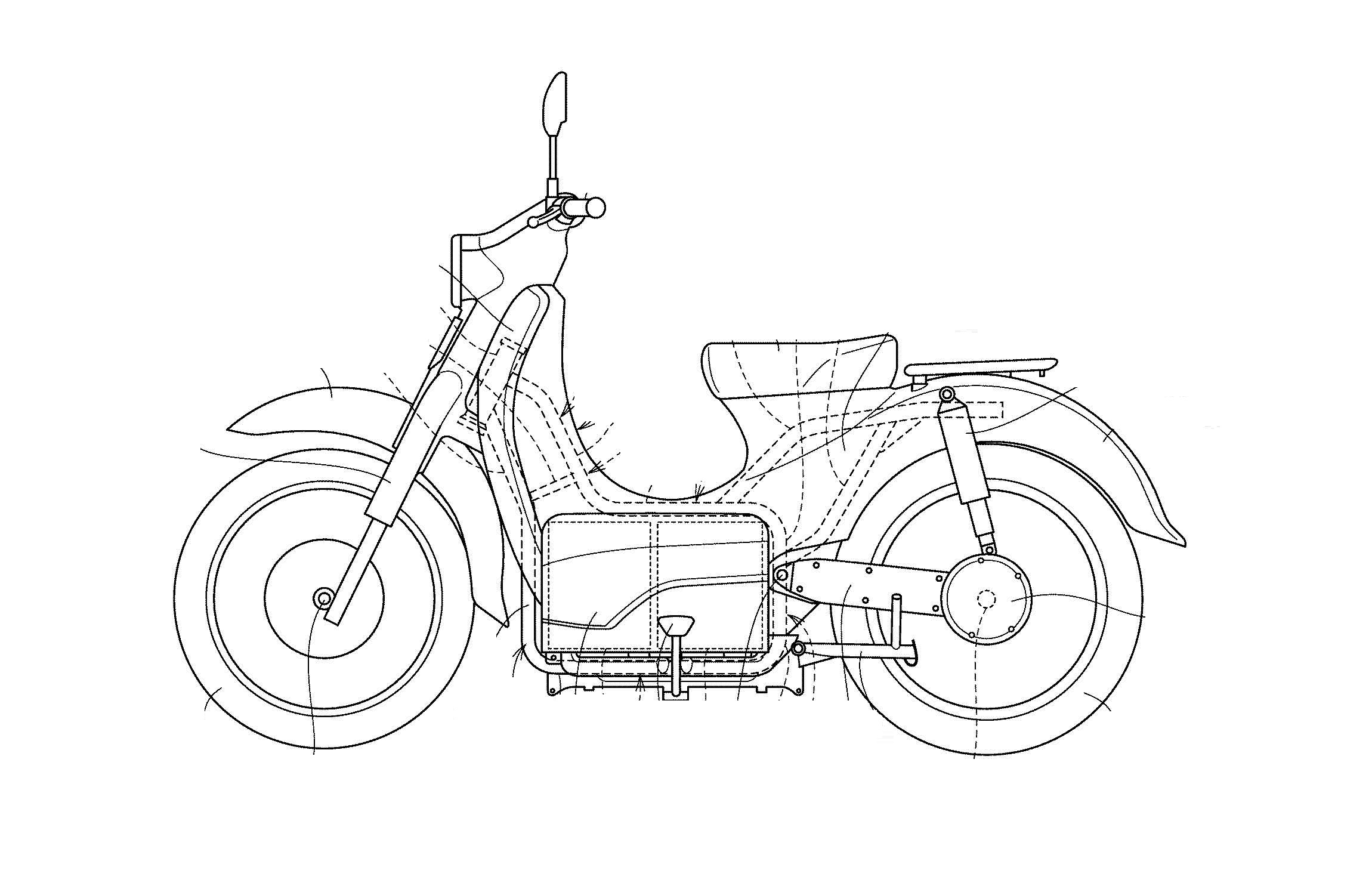 Honda Developing The EV-Cub With Swappable Batteries