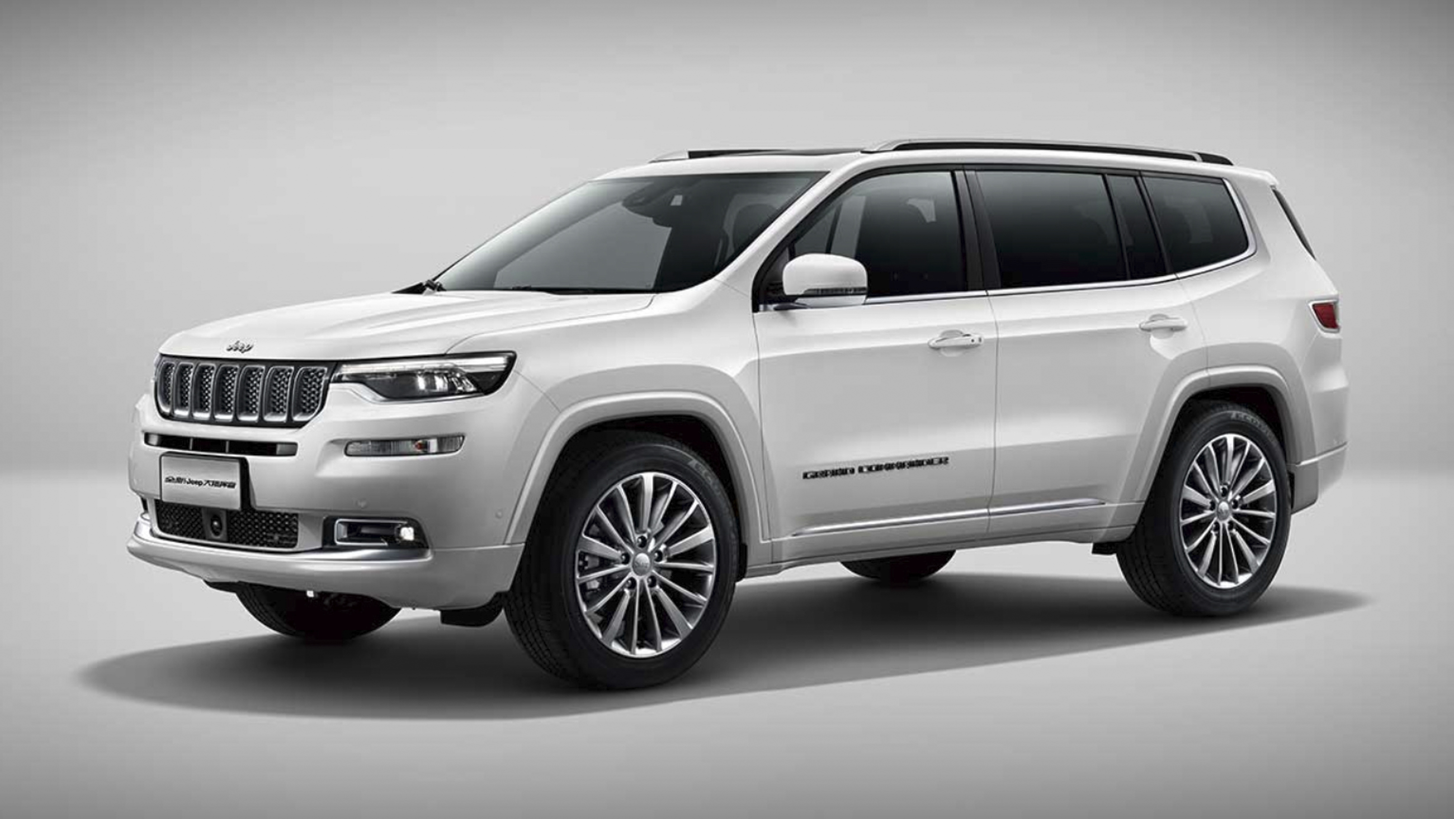 Jeep Grand Commander Debuts In China With Its Muscles
