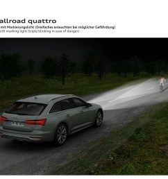 the new audi a6 allroad quattro was revealed just in time for its 20th anniversary top speed [ 3507 x 2480 Pixel ]
