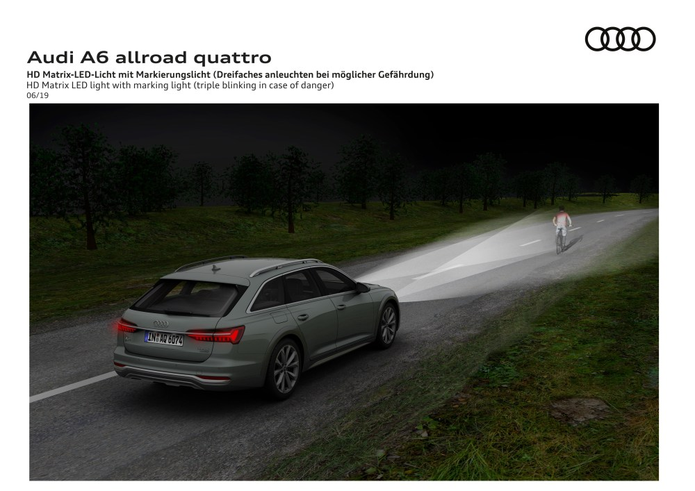 medium resolution of the new audi a6 allroad quattro was revealed just in time for its 20th anniversary top speed