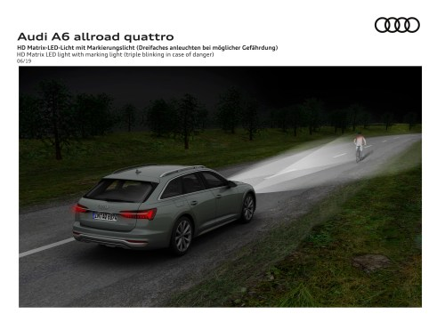 small resolution of the new audi a6 allroad quattro was revealed just in time for its 20th anniversary top speed
