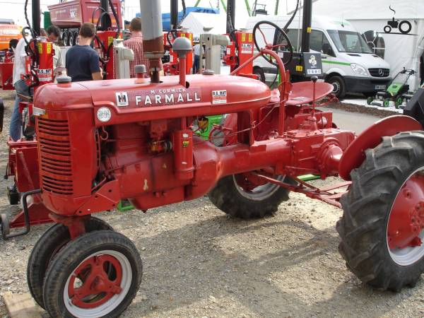 Farmall Bn Tractor - Year of Clean Water