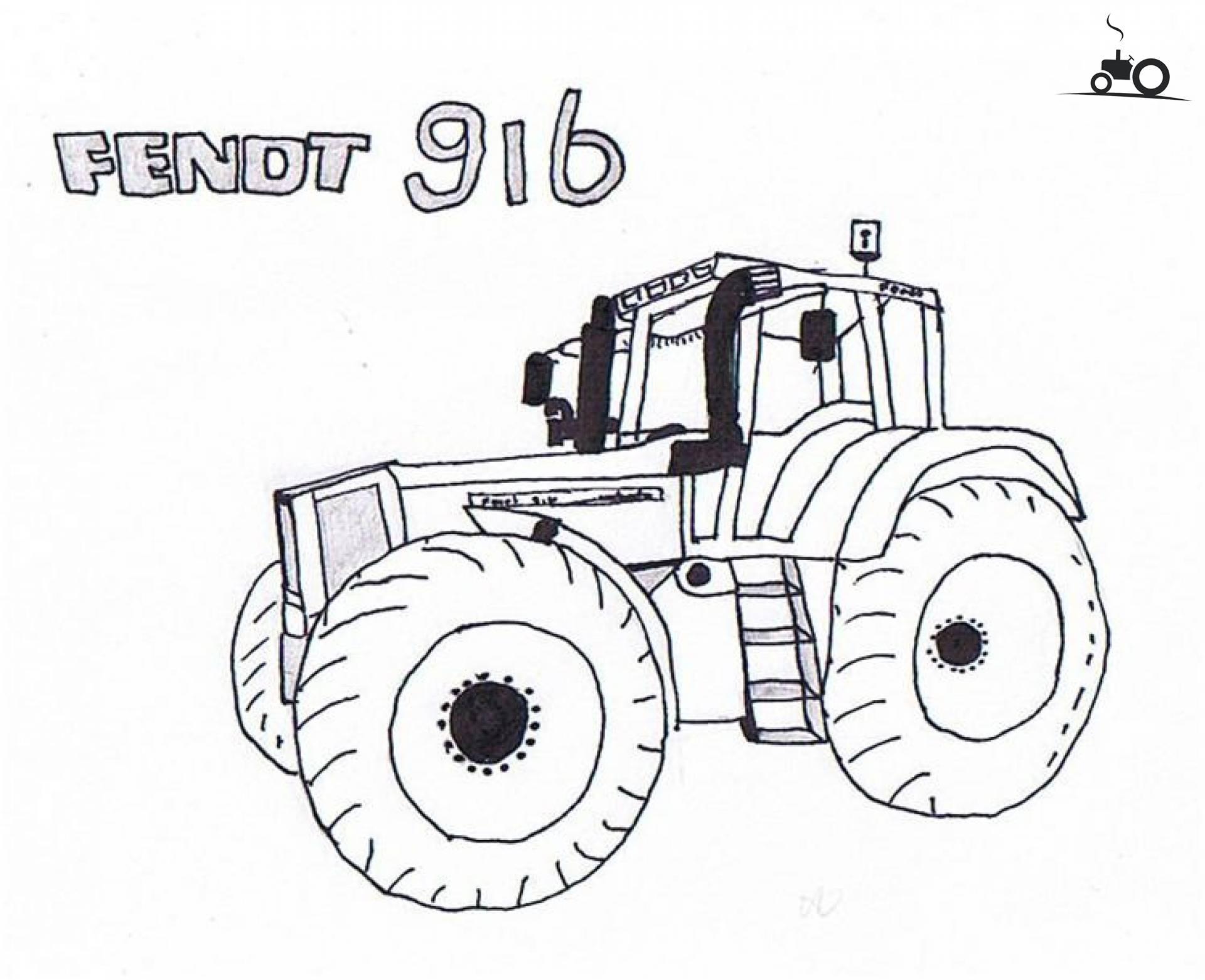 Ford Tractor Tekening