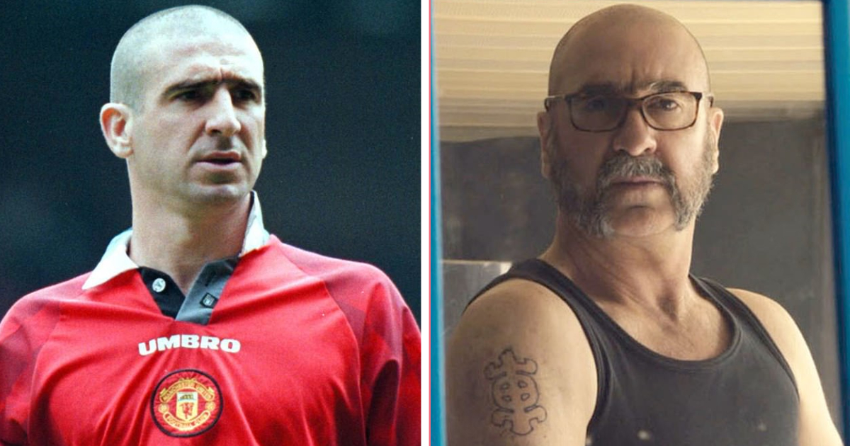 Eric cantona may be playing another person in his new tv role, but he sports a classic look from his man united days. Eric Cantona Revives Classic Man United Look By Sporting Shaved Head For Netflix Show