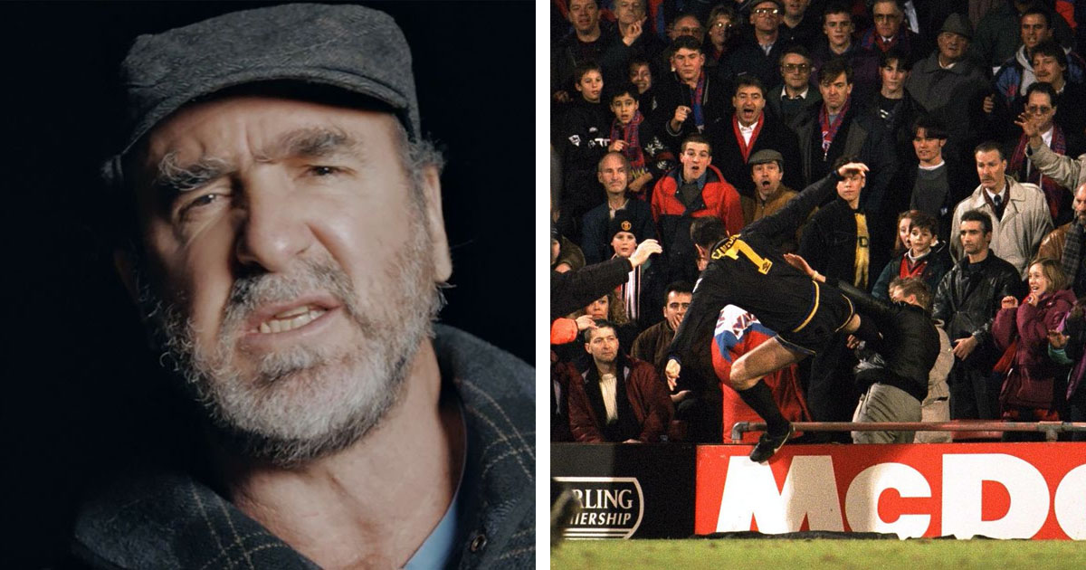 Eric cantona was selected to join the inaugural national football museum hall of fame in 2002 but has yet to collect his trophy. I Have One Regret I Would Ve Loved To Have Kicked Him Even Harder Eric Cantona