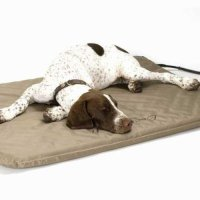 K & H LARGE INDOOR OUTDOOR LECTRO HEATED DOG BED WITH FAUX ...