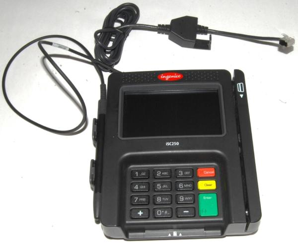 Ingenico Payment Terminal - Year of Clean Water
