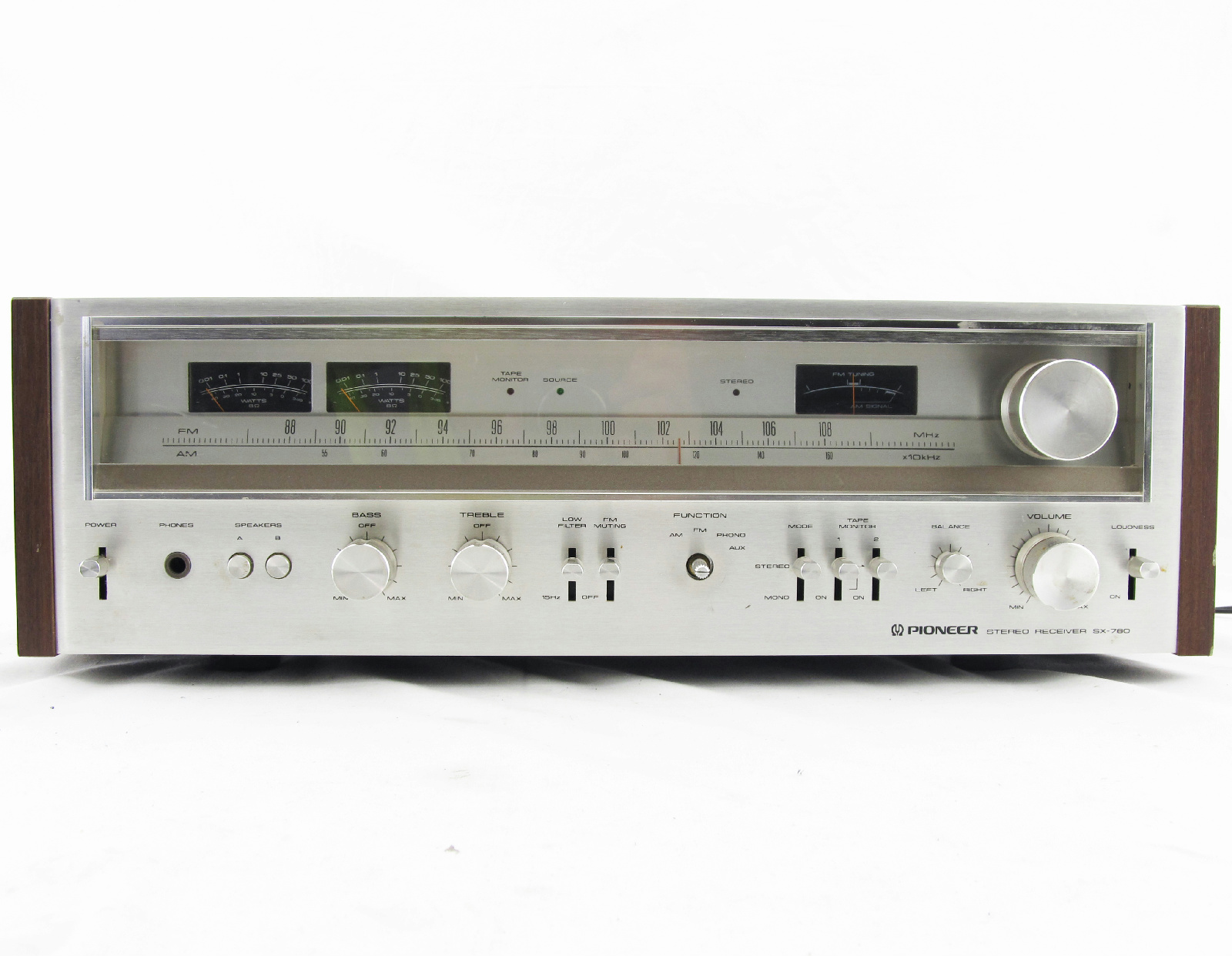 pioneer stereo receiver test house electrical wiring diagram circuit pdf home design ideas vintage sx 780 am fm ebay