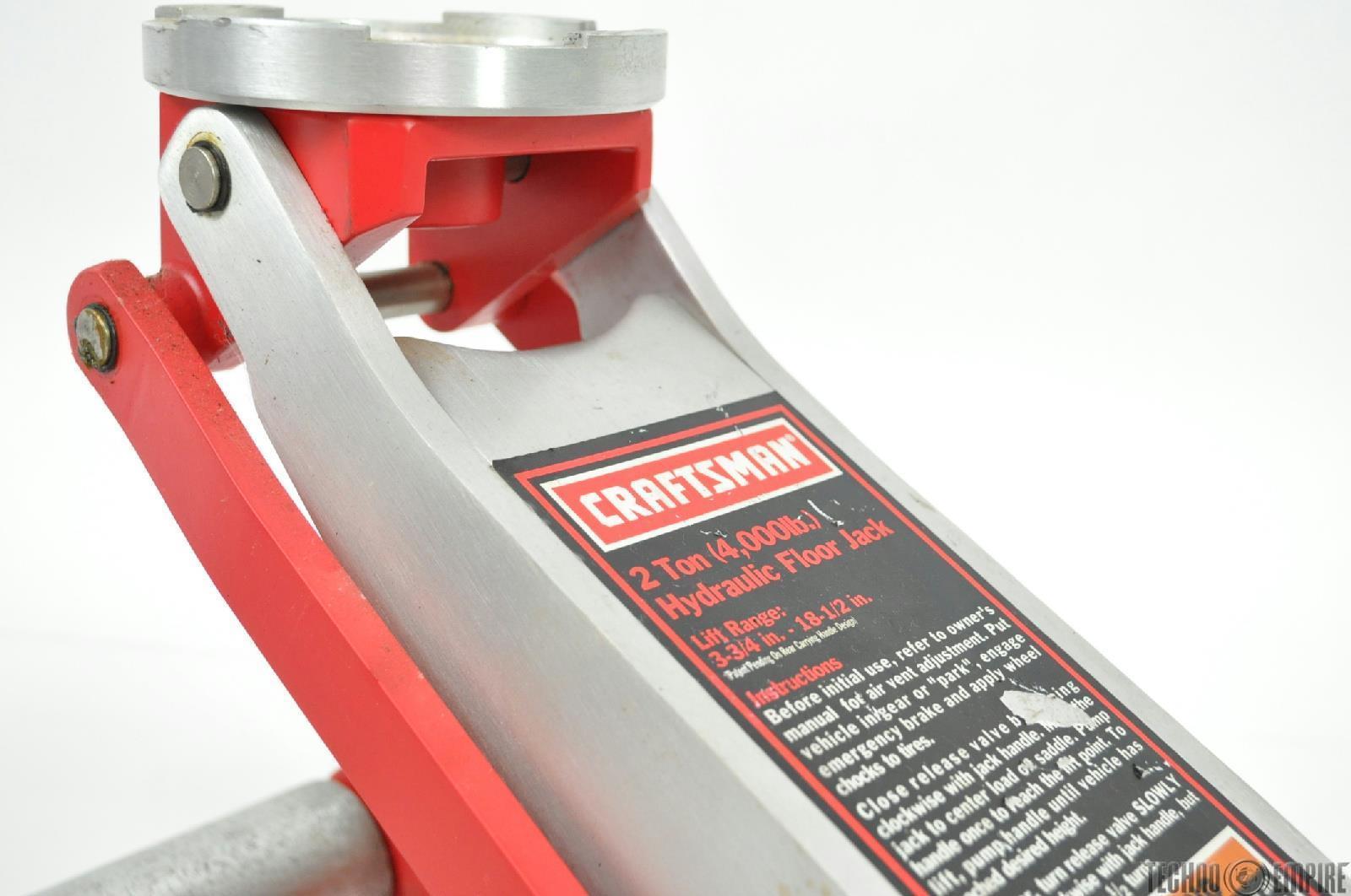 Craftsman 2 Ton Floor Jack Model 21412400