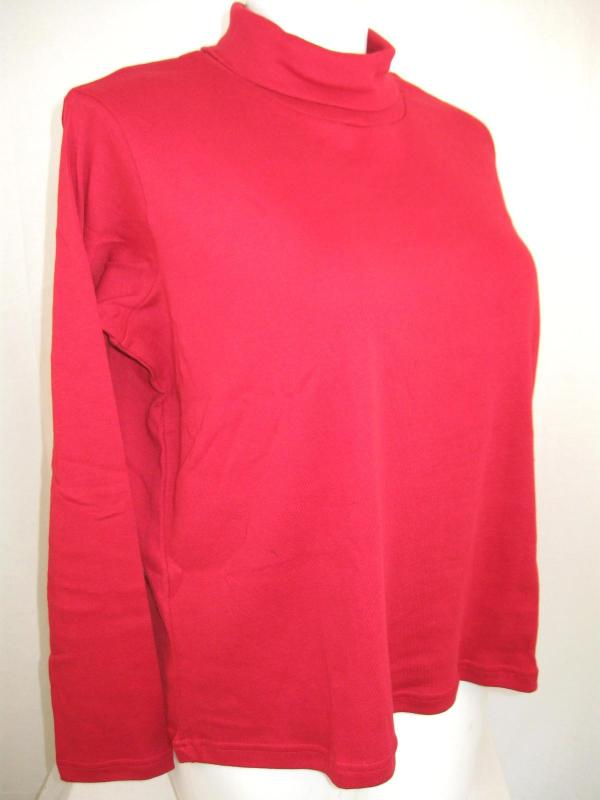 Nwot Fashion Bug Size Long Sleeve Turtleneck In Soft 100 Cotton Knit