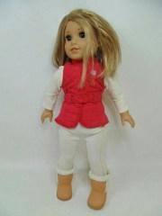 american girl doll blond hair brown