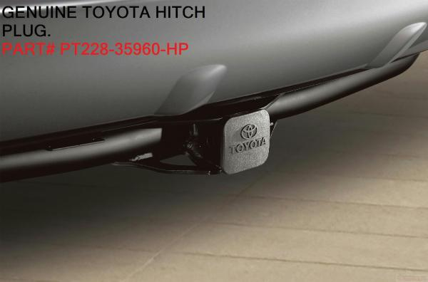 2000 - 2017 Oem Factory Toyota Tow Trailor Hitch Cover