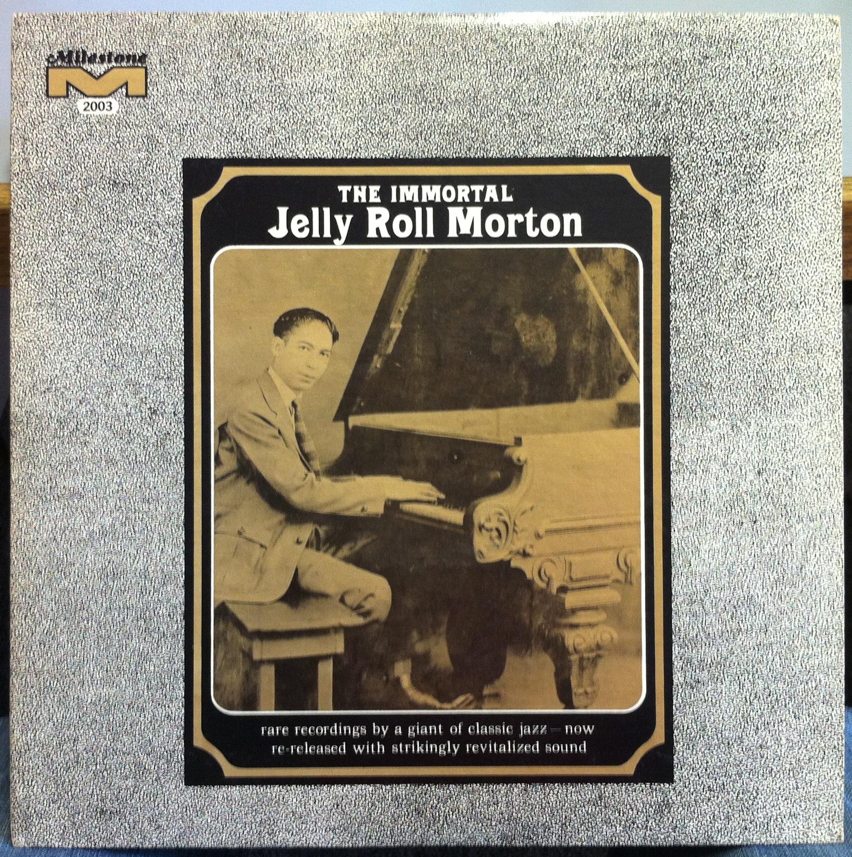 Jelly Roll Morton The Immortal Lp Vg Mlp Mono Piano Blues