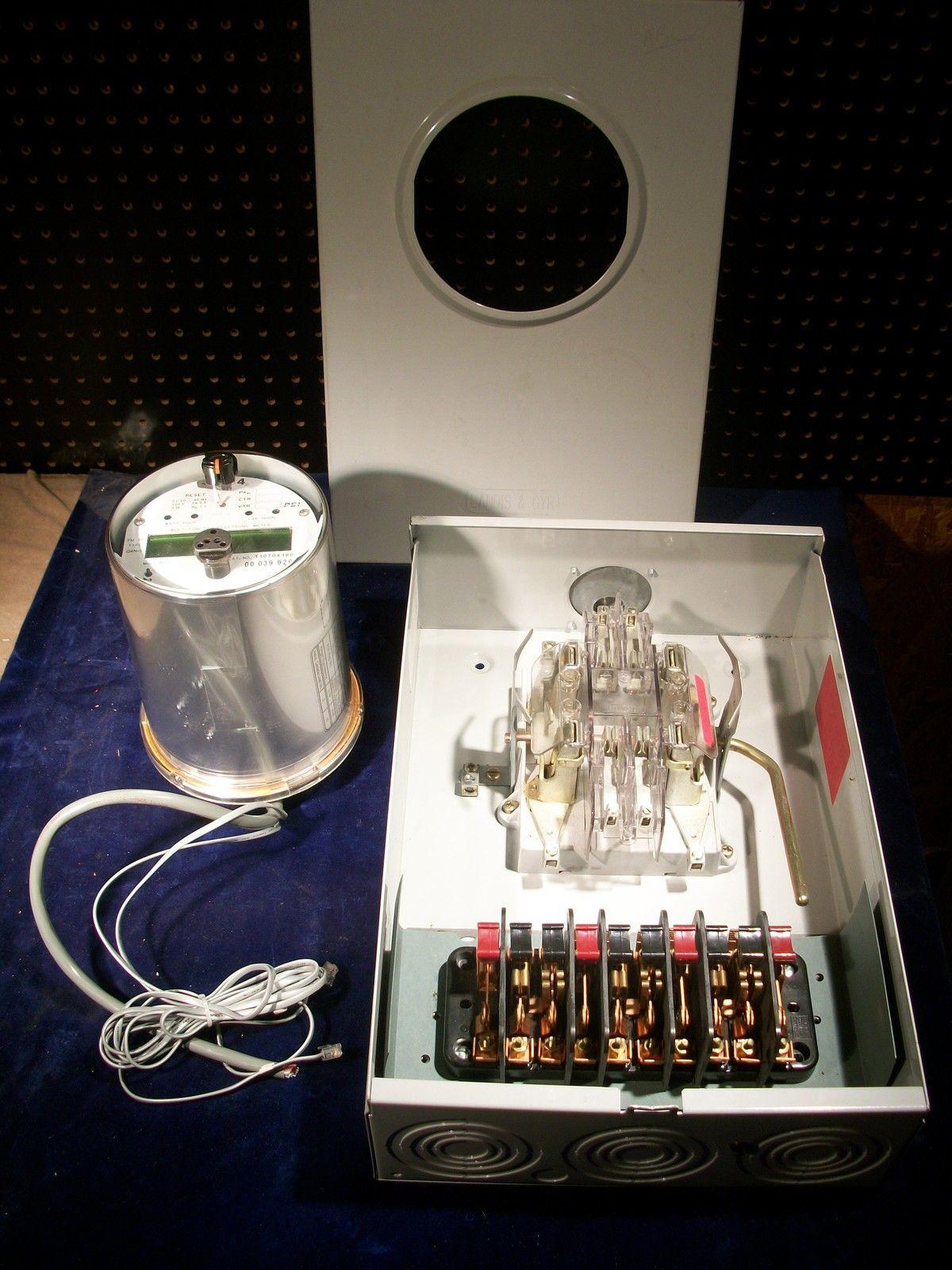 7 jaw meter socket wiring diagram narva ultima 225 hid landis and gyr 600 v 8 9804 8521 ebay