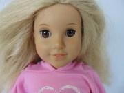 american girl doll long blonde
