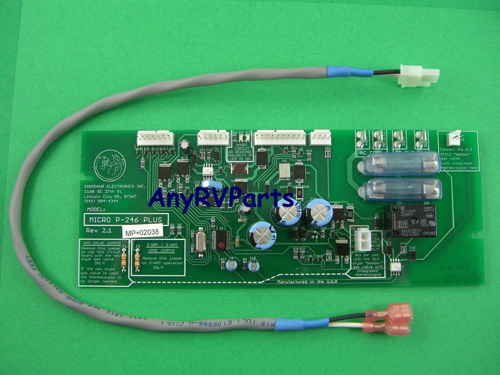 hight resolution of dometic refrigerator wiring diagram electric mx tl dinosaur p246 plus dometic refrigerator circuit board p246 ebay
