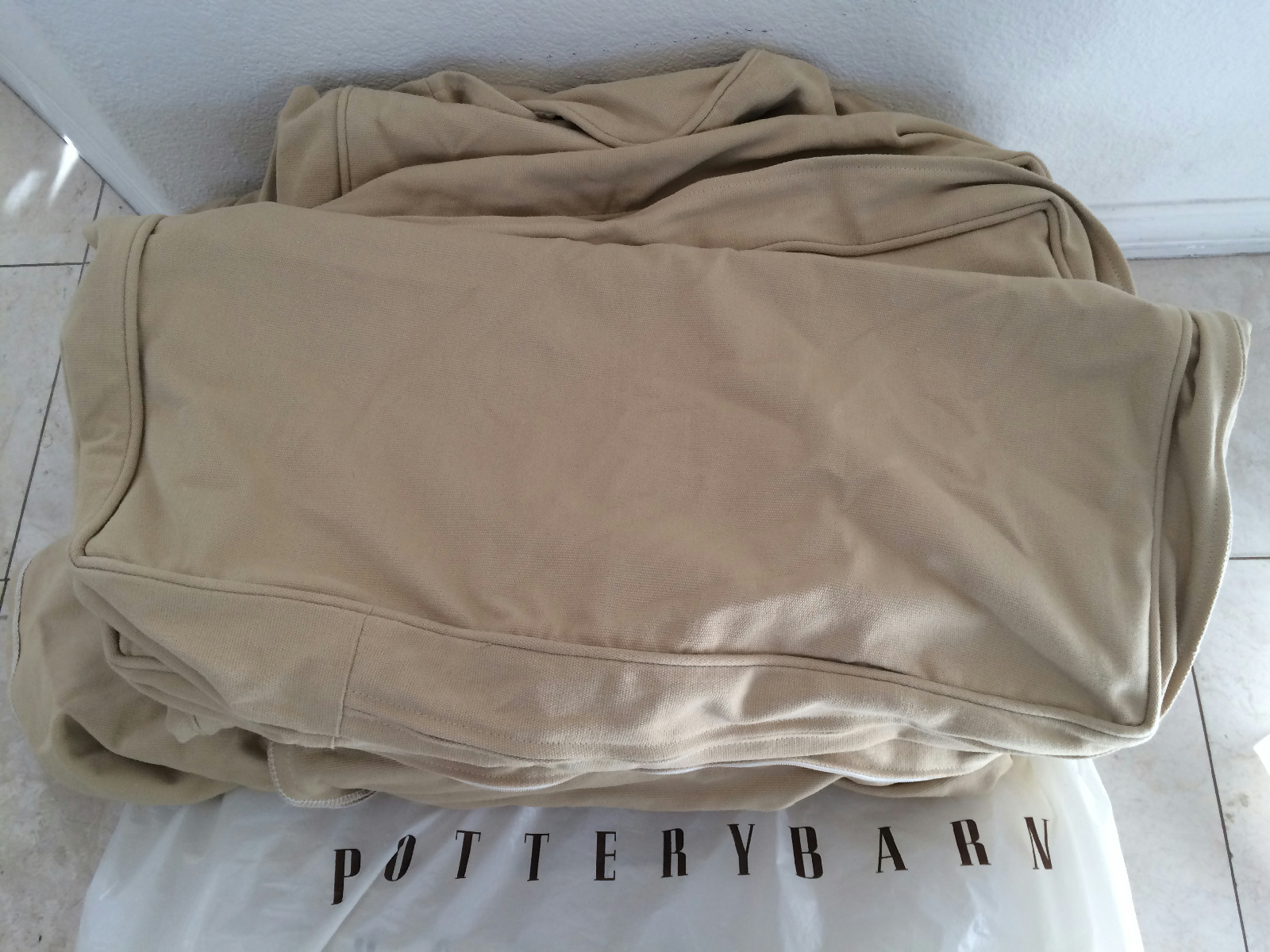 pottery barn leather sofa cleaning 3935 sofala road bathurst new pb basic couch slipcover cover