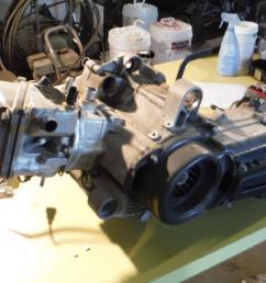 details about 2008 aprilia scarabeo 500 engine 14k miles ran well [ 1600 x 1200 Pixel ]