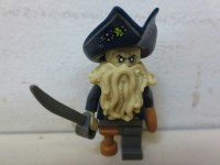 Lego Pirates Of The Caribbean The Black Pearl Davy Jones ...