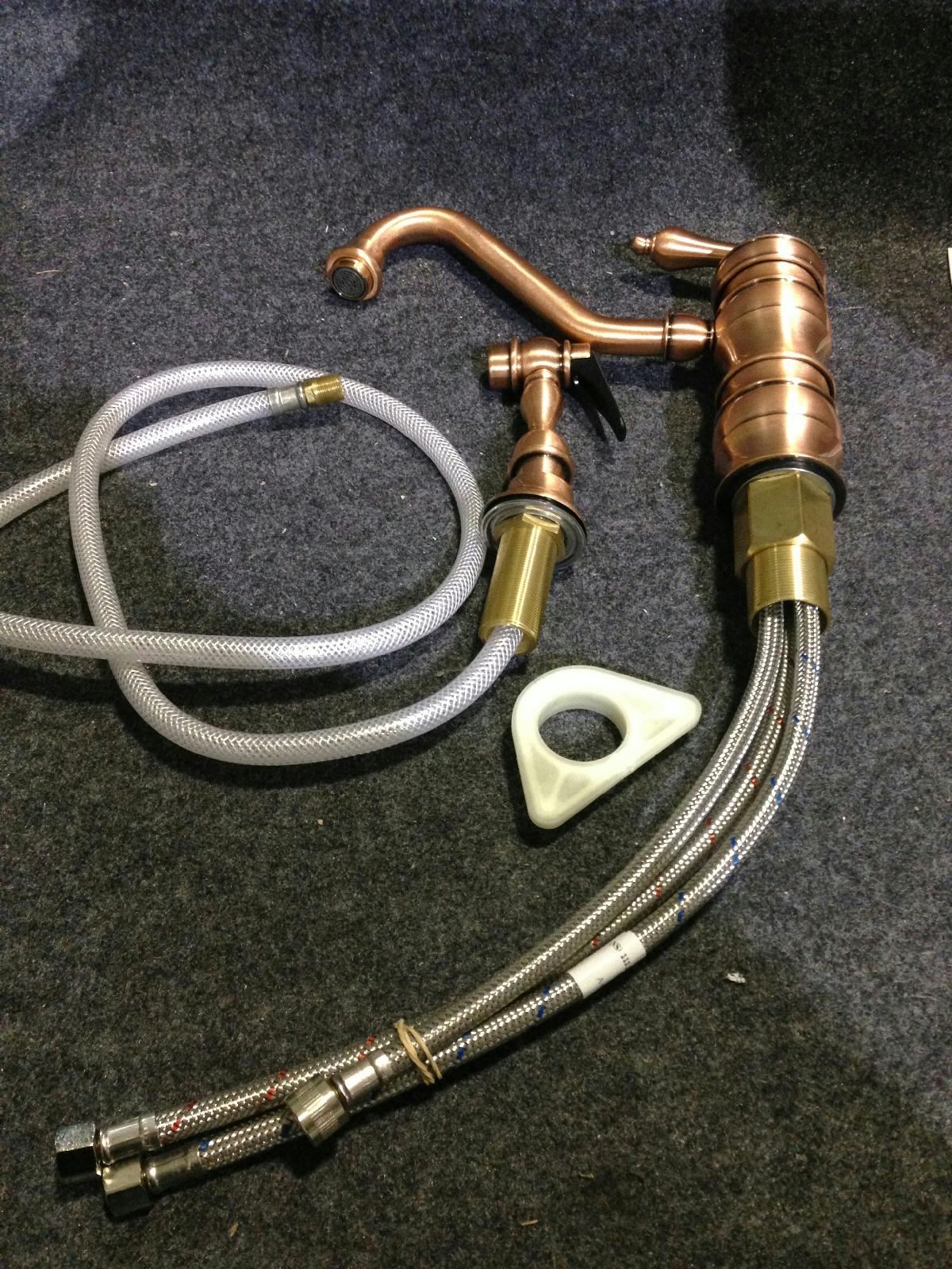 antique copper kitchen faucet lowes ceiling lights whitehaus vintage iii single handle side sprayer