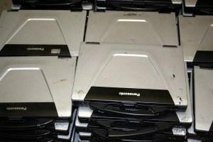 Lot 100 PANASONIC CF52 ToughBook Laptops mostly w BIOS