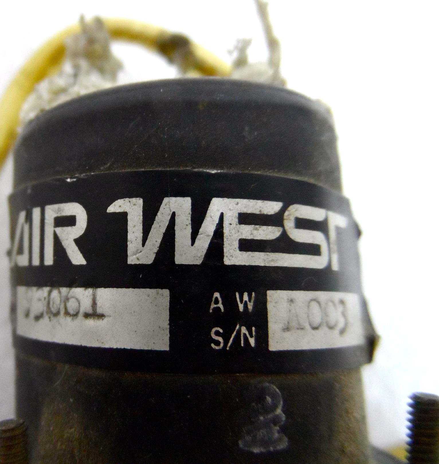 Air West Amp Gauge Guage Gage Meter Aircraft