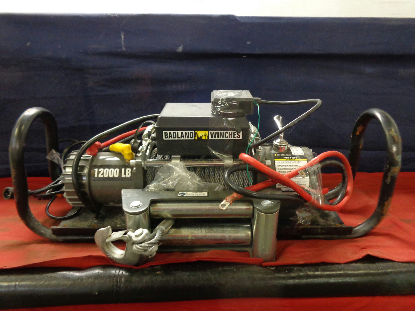 hight resolution of badland 12000 lb electric winch pictures