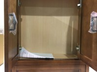 """Foremost Naples 26.5"""" W Wall Medicine Cabinet Warm ..."""