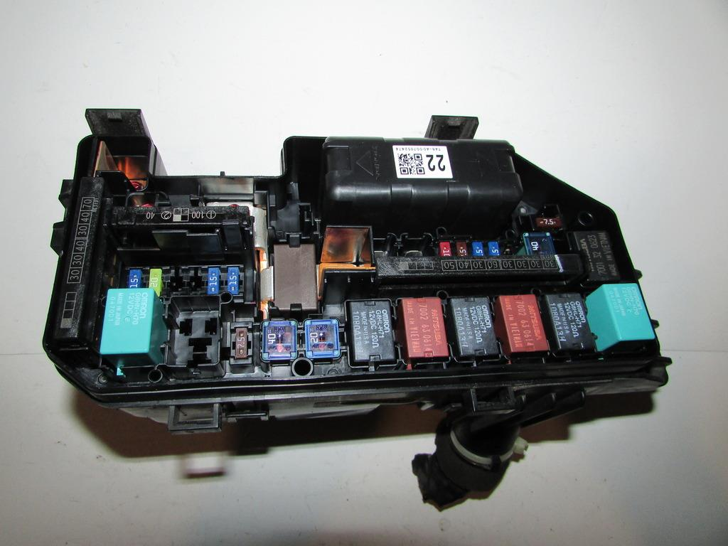 Honda Accord Under Hood Fuse Box