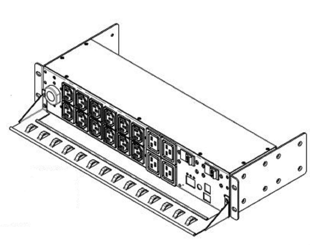 Apc Ap Rack Mountable Pdu Metered 2u 30a 208v 12