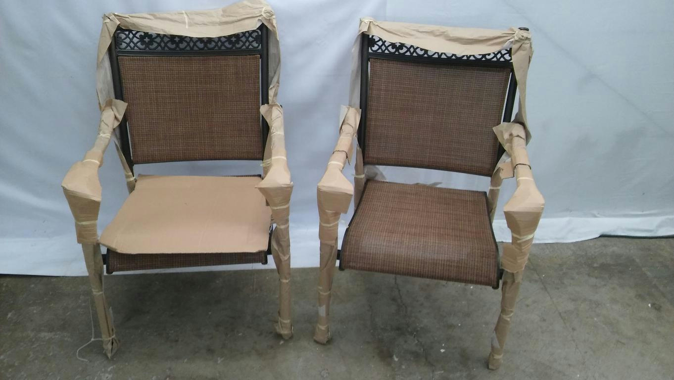 Hampton Bay Outdoor Chairs Pallet Hampton Bay Niles Park Sling Patio Dining Chairs