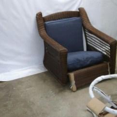 Hampton Bay Swivel Patio Chairs Lounge Chair Indoor Pallet Spring Haven Wicker