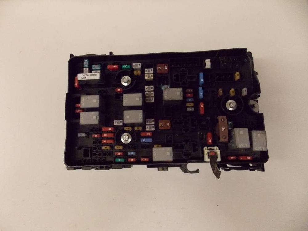 medium resolution of 15 16 chrysler 200 2 4l under hood relay fuse box block warranty 1646