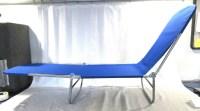 Folding Multi-Position Chaise Lounge Beach Chair Metal ...