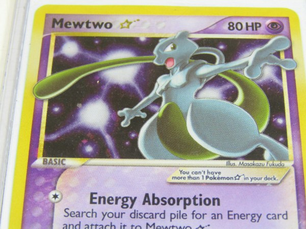 Mewtwo Gold Star 103 110 Shiny Pokemon Card Holo Rare