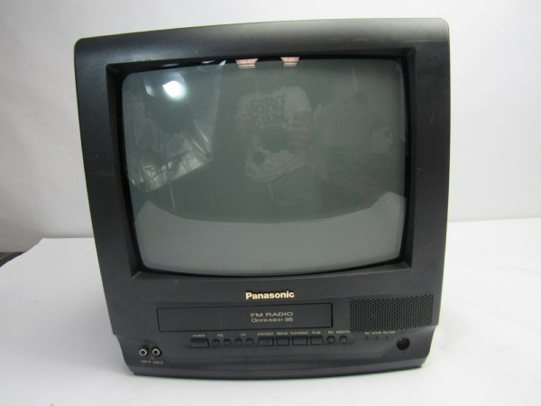 Panasonic 69w Tv Vcr Fm Combo Record