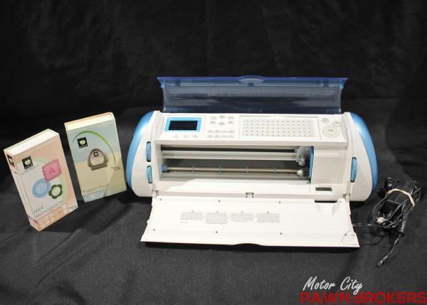Provo Craft Cricut Expression Crex001- Blue - Die-cut