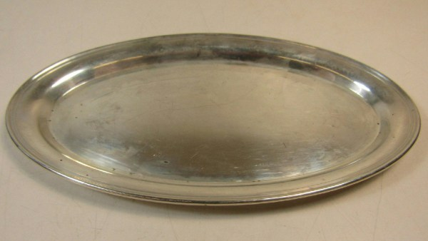 Gorham Sterling Silver Platter Tray Oval 124