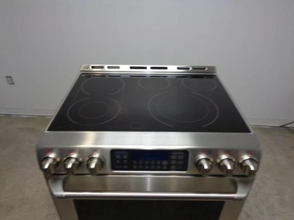 GE Cafe Series Electric Ranges Freestanding