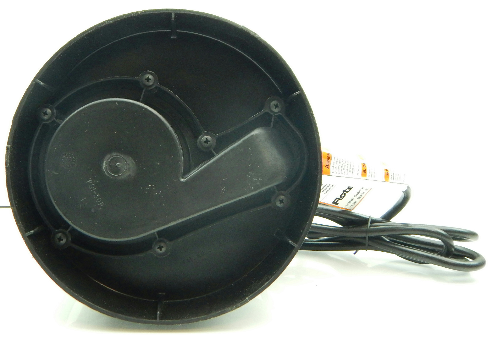 Flotec Fp0s A 1 3 Hp Thermoplastic Submersible Sump