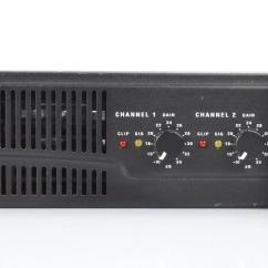 2 Channel Stereo Amplifier Century Welder Parts Diagram Qsc Rmx 2450 650w 4Ω Amp Power