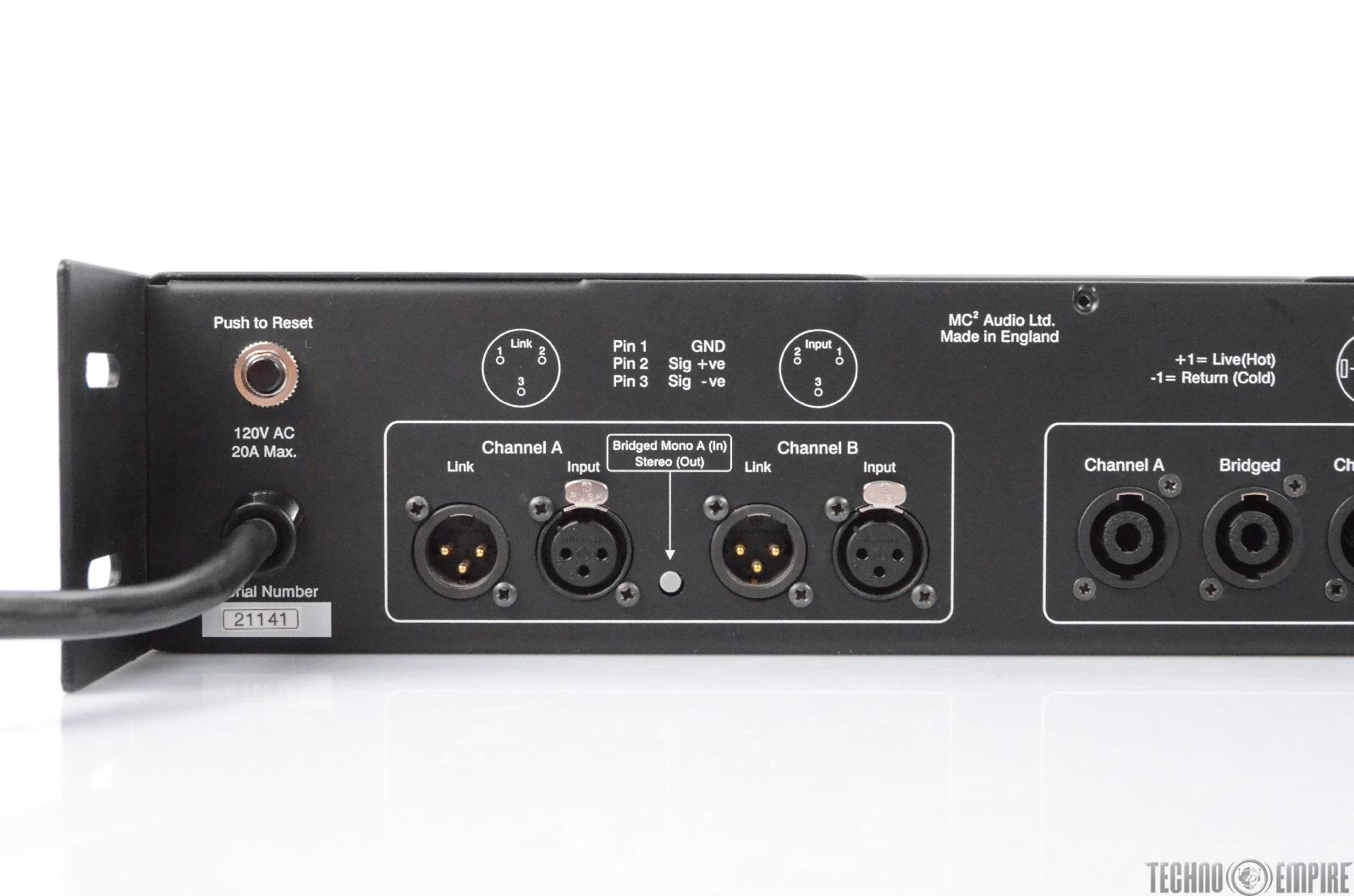 2 channel stereo amplifier 30 amp disconnect wiring diagram mc2 audio quested ap 500 300 watt power