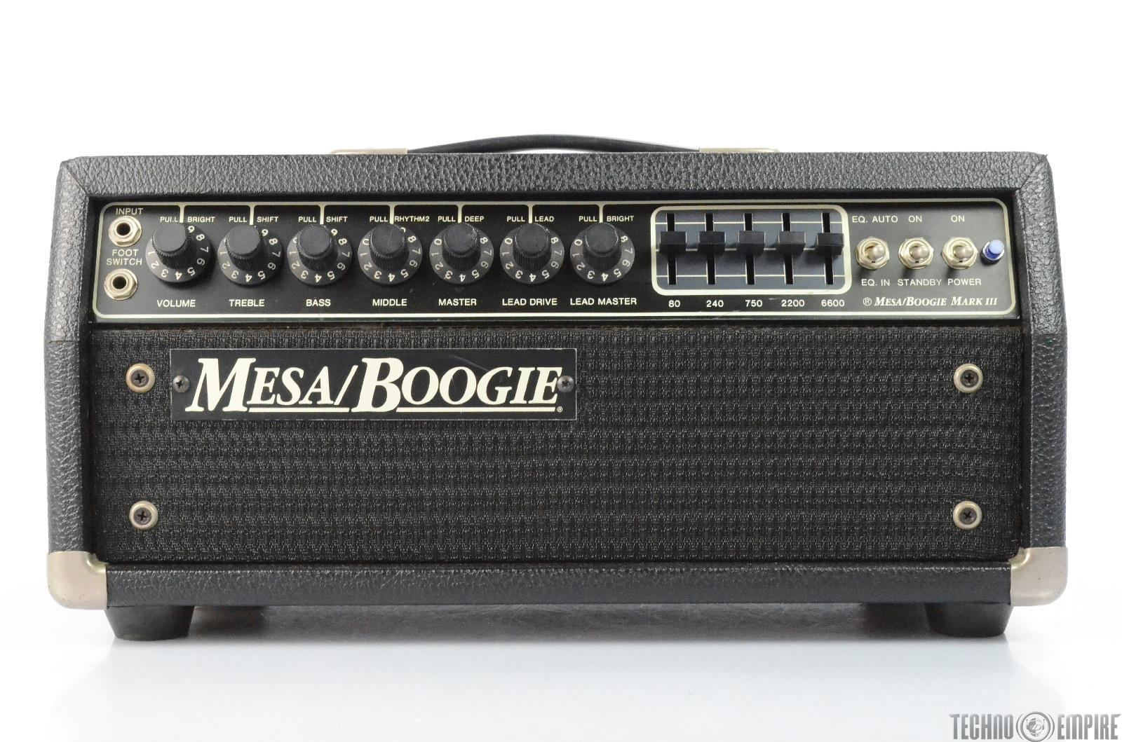 Mesa Boogie Mark III Blue Stripe Short Head Guitar Tube