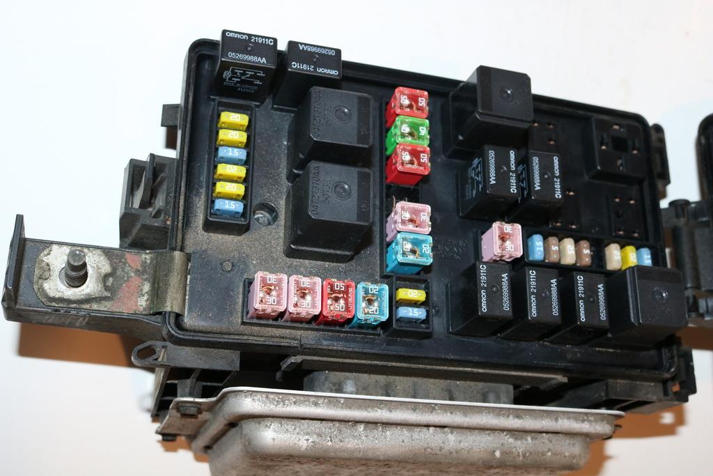 2005 Town And Country Fuse Box