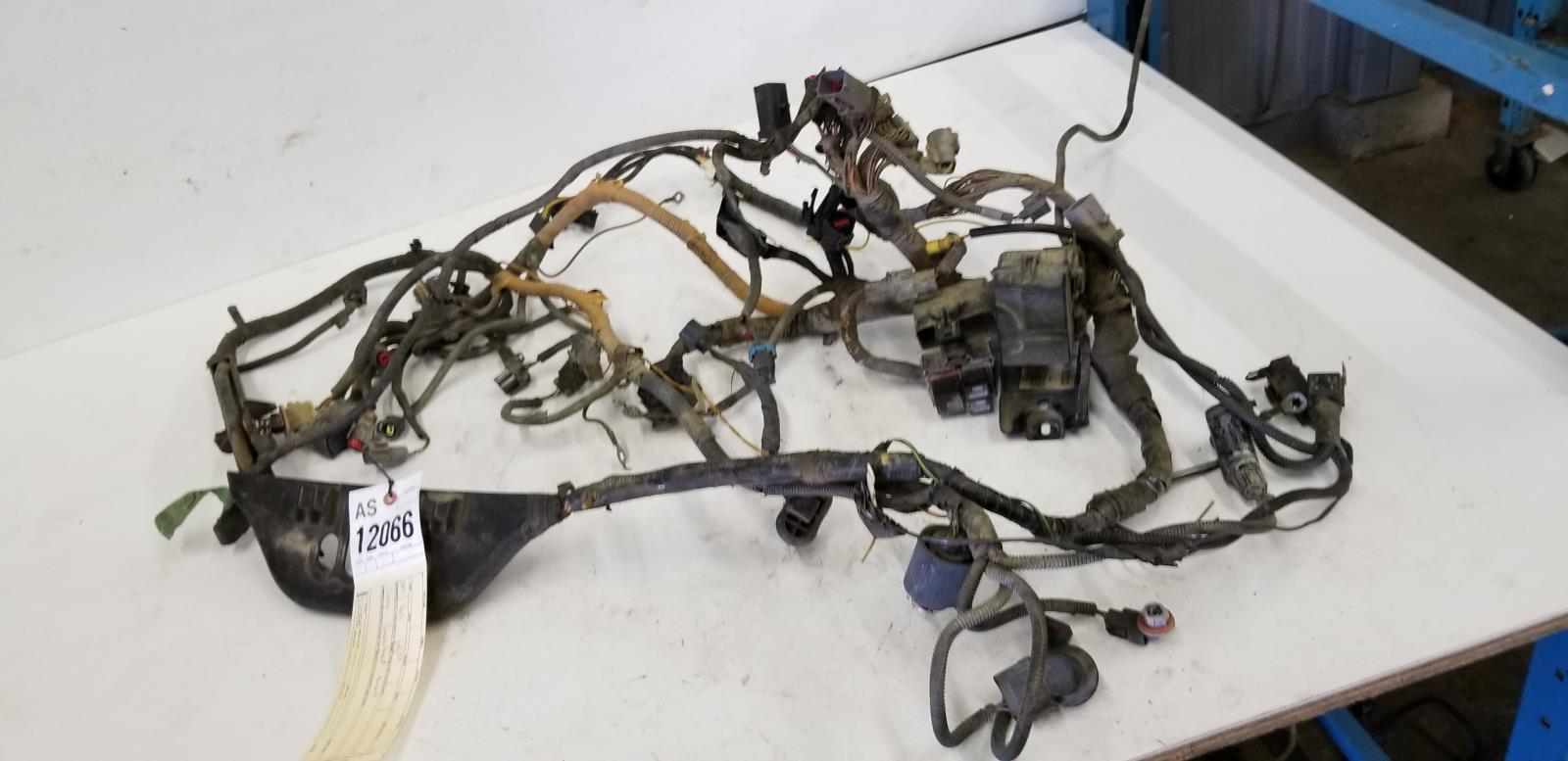 hight resolution of details about 2004 ford f350 6 0 engine compartment harness 4c3t 12a851 p160e amf as12066